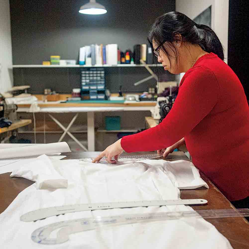 Seattle Muses helps residents expand their sewing skills.